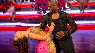 Patrick Robinson & Anya dance the Samba to 'Copacabana' - Strictly Come Dancing: 2013 - BBC One