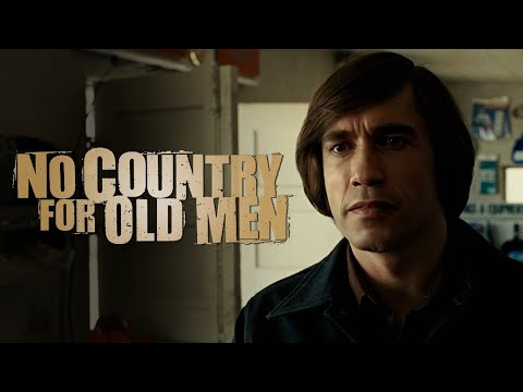 Arnold Schwarzenegger in the Coin Toss from No Country For Old Men [DeepFake]