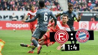 F95-Spieltag | Fortuna Düsseldorf - Bayern München 1:4 | Klassenerhalt Trotz Niederlage