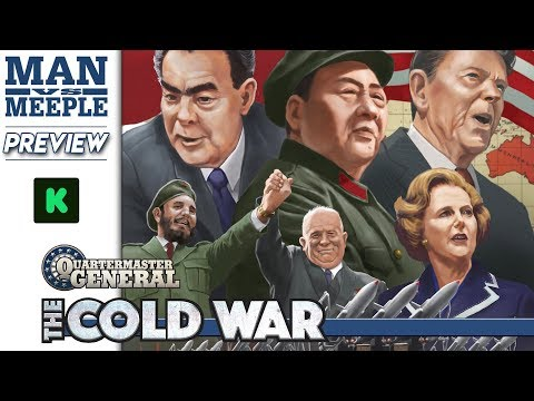Quartermaster General: The Cold War Preview by Man Vs Meeple