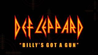 Def Leppard - Billy's Got A Gun (Lyrics) Official Remaster
