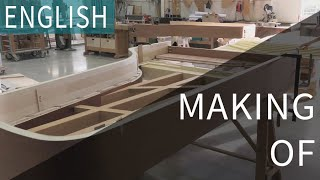 Building the Chris Maene Straight Strung Concert Grand Piano - ENG
