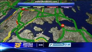 News 12 Traffic and Weather Long Island for 2/26/14