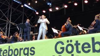 "Ane Brun at Europride Göteborg performing ""Alfonsina y el Mar""  by Mercedes Sosa"