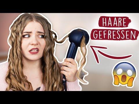 LOCKEN mit DIESEM komischen Gerät?! 😬🔥 | LIVE TEST Babyliss - Review