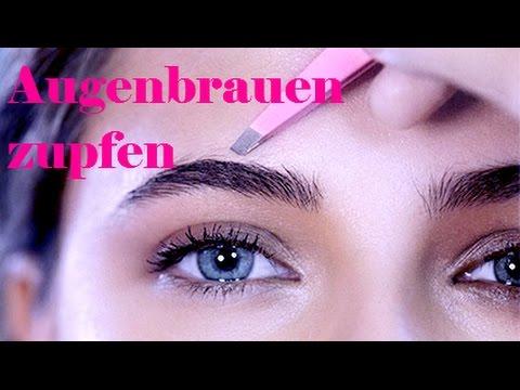 Beauty Academy: Augenbrauen richtig zupfen