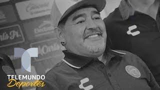 Maradona muestra su lado más humano a México | Liga MX | Telemundo Deportes