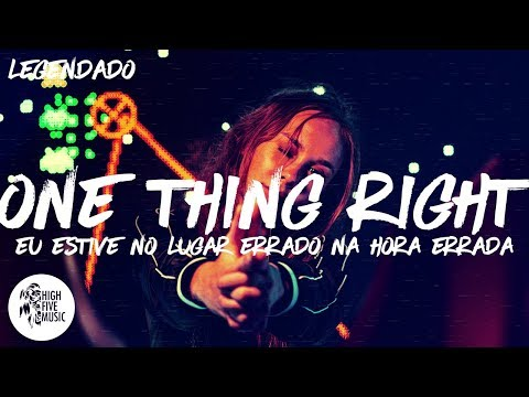 Marshmello, Kane Brown - One Thing Right [Tradução/Legendado]