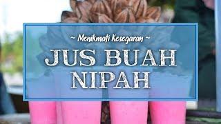 Wajib Coba Segarnya Jus Nipah, saat Kunjungi Wisata Tuan Tapa Aceh Selatan