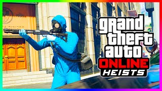 GTA 5 Online HEIST SETUP DETAILS - How To Plan & Start Heists, Requirements & MORE! (GTA V)