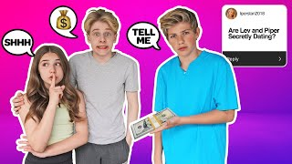 PAYING My CRUSH To Tell ME Her Deepest SECRETS CHALLENGE **SHOCKING TRUTH** 💰🤫| Walker Bryant