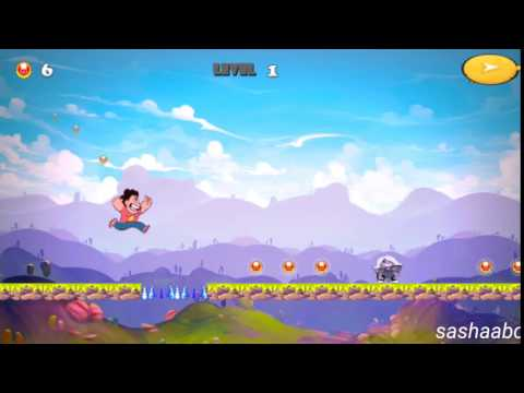 steven run universe adventure обзор игры андроид game rewiew android