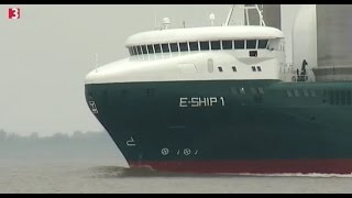 E-Ship 1 - Säulen als Segel