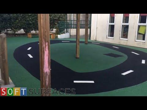 Wetpour Flooring & Graphics Installation in Bristol | Wet Pour Installation