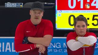 Olympic Mixed Doubles Curling Trials | Final Comes Down To The Wire & The Hamiltons Come Out On Top