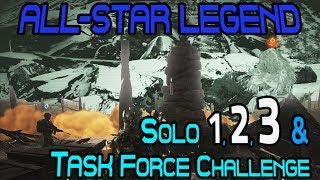 Solo 1-3 & Task Force Challenge :: All-Star Legend 🞔 Ghost Recon Wildlands 🞔 No Commentary
