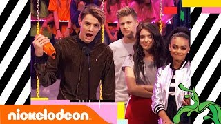 Jace Norman Wins Favorite TV Actor 📺 Second Year in a Row   Kids' Choice Awards 2018   Nick