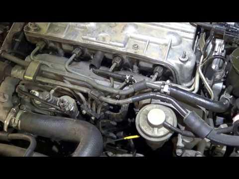 Фото к видео: Не заводится Мазда 626 дизель 2000 года выпуска