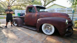 PATINA RATROD 1954 CHEVY PICK UP 3100 ON AIR BAGS - Miayota & Generation Oldschool