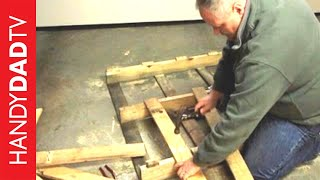 Best Way To Disassemble A Pallet For FREE WOOD