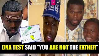 OMG ! 50 Cent said the DNA TEST PROVED that Marquise Jackson is NOT his SON !