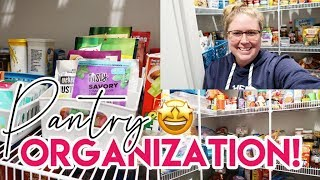 ✨ JAN 2020 ORGANIZATION DAY 1! 😁 ORGANIZING MY WALK-IN PANTRY ✔ CLEAN WITH ME