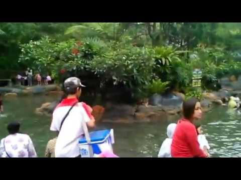 Video Ciater Hot Spring Water, Subang - West Java, Indonesia