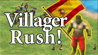TaToH's Villager Rush vs Hoang! AoE2 Definitive Edition