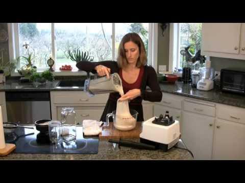 Συνταγή για γάλα από ωμά αμύγδαλα