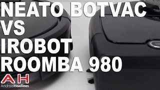 Vacuum Wars: Neato Botvac Connected vs iRobot Roomba 980