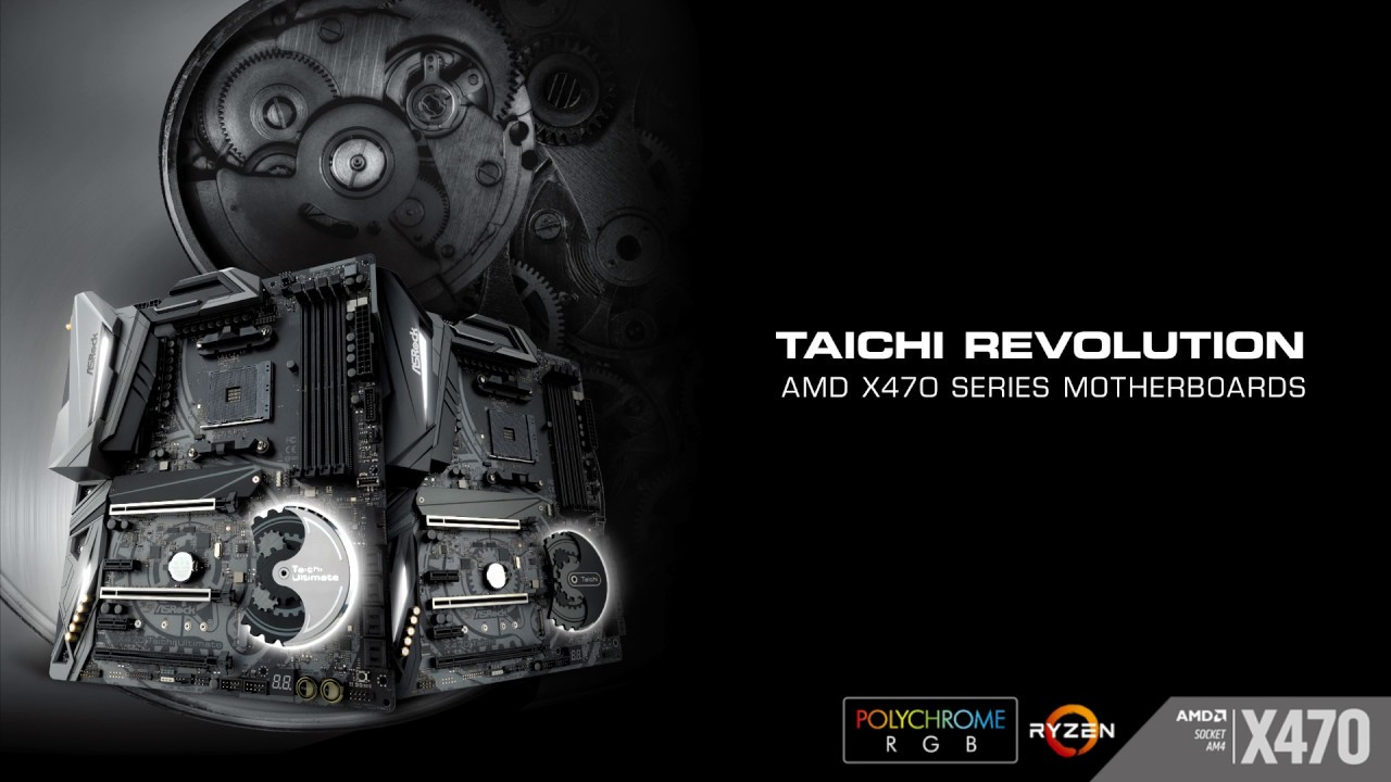 ASRock > AMD X470 Series