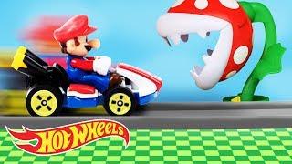 It's-a Me, A MARIO KART HOT WHEELS PARTY! | Hot Wheels