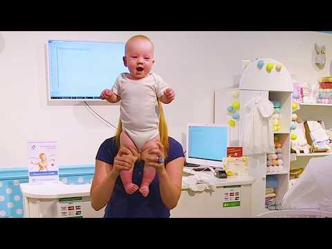 Динамическая гимнастика для детей. Вторая часть.