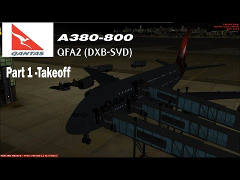 Project Airbus and Wilco Evo  V2 A380 Merge- Part 1 - смотреть