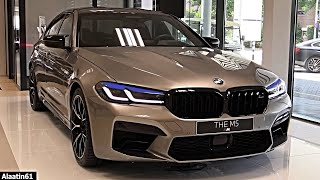 2021 NEW BMW M5 Competition LCI | Facelift M5 FULL REVIEW Interior Exterior SOUND