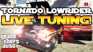 GTA 5 Online Lowriders - Tornado Custom Lowrider Live Tuning! [PlayStation 4, Deutsch]