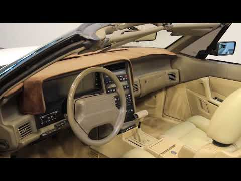 Video of '91 Allante - M7RK