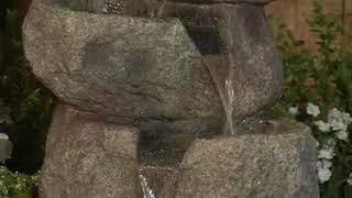 Glacial Rock Zen Water Fountain