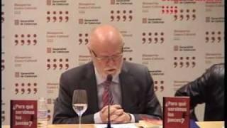 """Presentación de """"¿Para qué servimos los jueces?"""" de José Antonio Martín Pallín // 01.12.2010"""