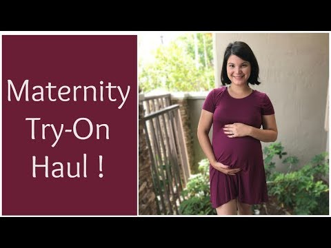 Pregnancy Clothing Haul | Maternity Clothes Try On