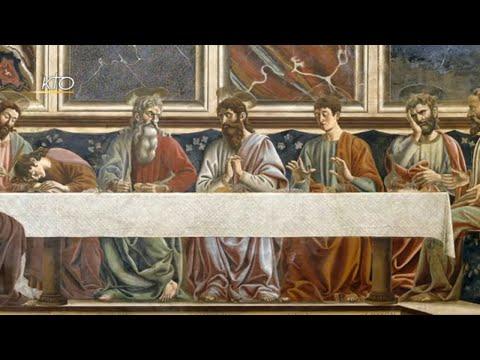 La Cène de Andrea del Castagno La Cène de Andrea del Castagno