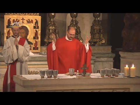 Vêpres et messe du 2 juin 2018