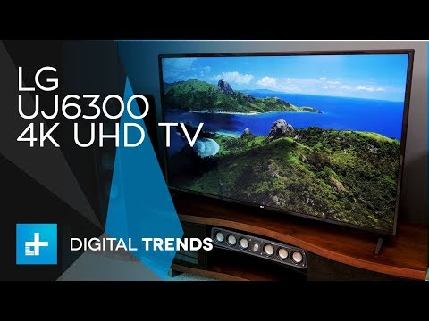 LG UJ6300 4K UHD TV - Hands On Review