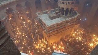 Thời Sự Tuần Qua 28042017: Hiện Tượng Lửa Thánh Lạ Lùng Tại đền Thờ Thánh Mộ, Giêrusalem