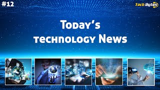 Today's Top 5 Interesting Trending Technological News | #12 | ENGLISH |Tech Bytes