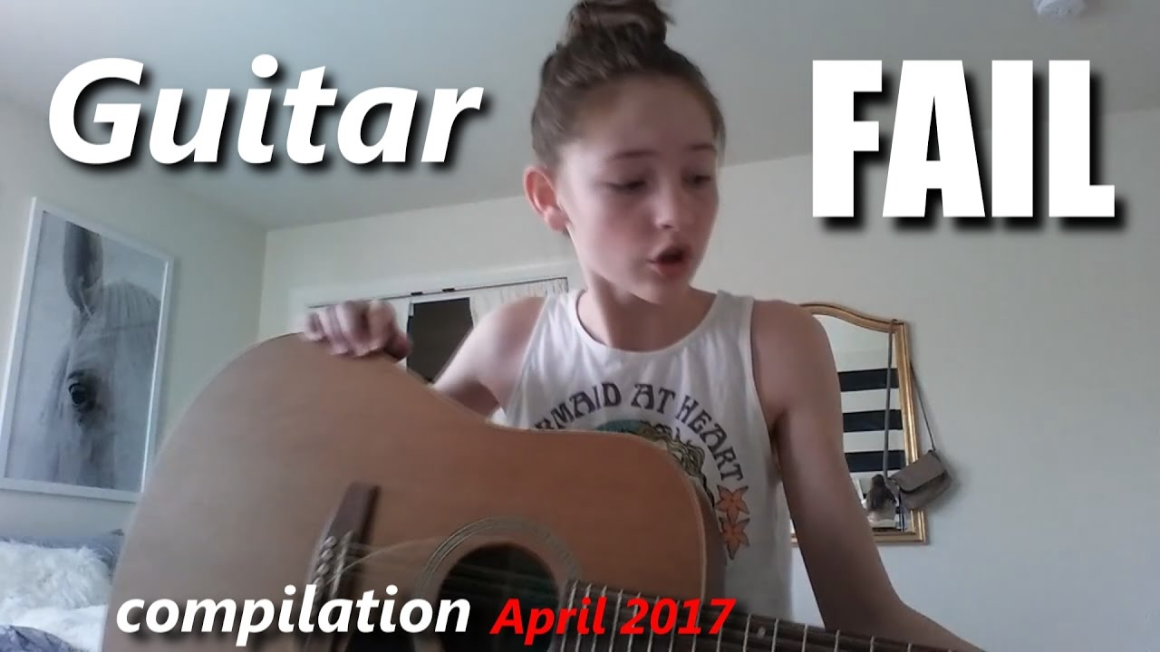 Guitar Fails and Bloopers