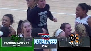 Edmond Santa Fe vs Norman Basketball Highlights 1-23-18
