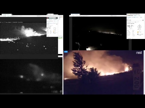 AI6YR Live Stream - Thomas Fire - Fire Command Channel