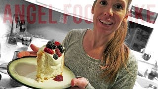 Too Many Eggs On Your Counter? Make This Angel Food Cake!