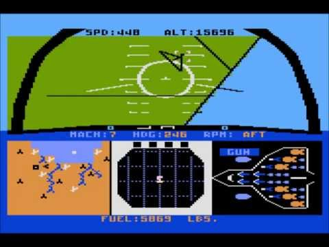 F-15 Strike Eagle for the Atari 8-bit family